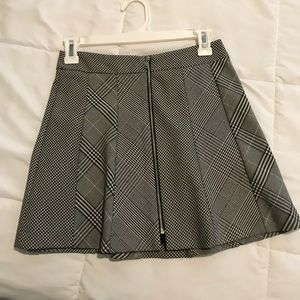 Plaid Zara Miniskirt